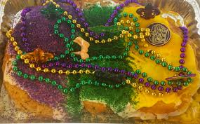 "The Truth About The Purple, Green, And Gold Of Mardi Gras Apparently, most of New Orleans is wrong about the origin of Mardi Gras colors. Yes, they're purple, green and gold. And in 1892, the Rex parade theme ""Symbolism of Colors"" gave meaning to these colors. Purple Represents Justice. Green Represents Faith. Gold Represents Power. There's no denying that.  Since we were kids, drinking weak café au lait on our grandmere's knees, we've been taught that Rex selected the official Mardi Gras colors in 1872 to honor the visiting Russian Grand Duke Alexei Alexandrovich Romanoff.  Then while researching a book for the 125th anniversary of the Rex organization, famous local historian Errol Flynn Laborde discovered the truth behind these colors. Trust us, it's too complicated to explain to your friends, especially if you're watching parades with Bloody Mary's in hand. So here's an abbreviated version of why everything from polo shirts and headbands to donuts and king cakes are purple, green and gold this time of year. And why one beloved store that ""ain't dere no more"" – K&B – was famous for its purple everything, including cash registers."